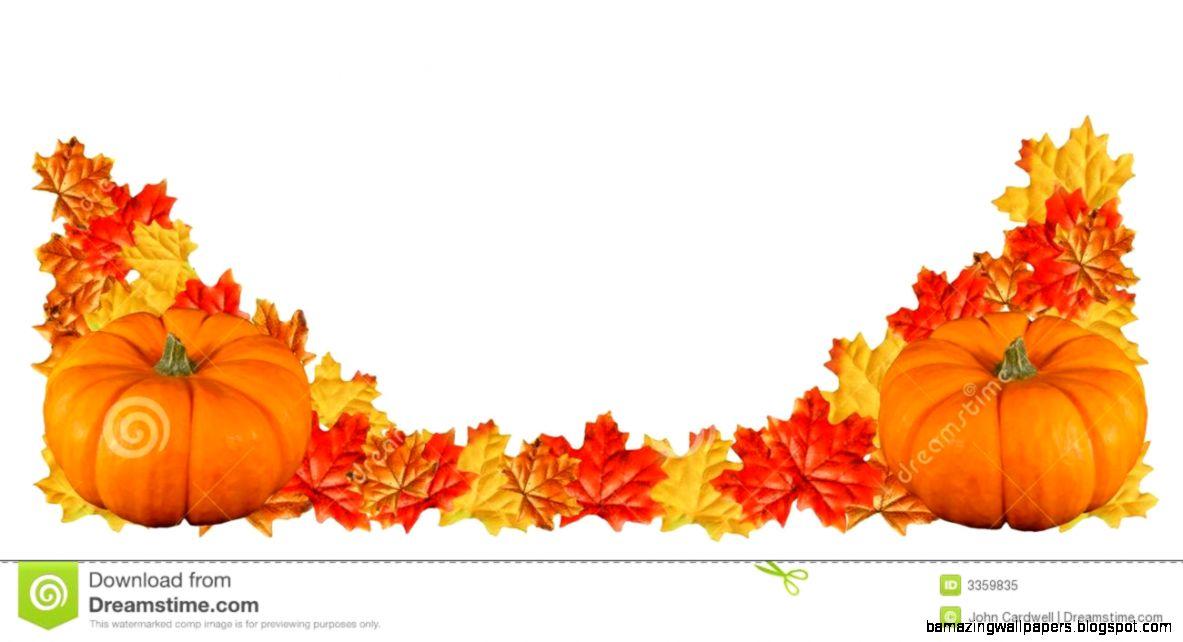 Fall Pumpkin Border Clipart
