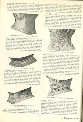 Des modes le miroir des modes septembre 1906 for Miroir des modes value