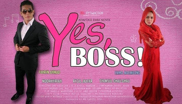 DRAMA YES BOSS EPISOD 1 SAMPAI 9 UPDATE