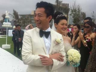 Barbie Hsu wedding photos