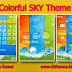 Colorful SKY Theme For Nokia x2-00,x2-02,x2-05,x3-00,c2-01,2700,206,301,6303 240*320 Devices