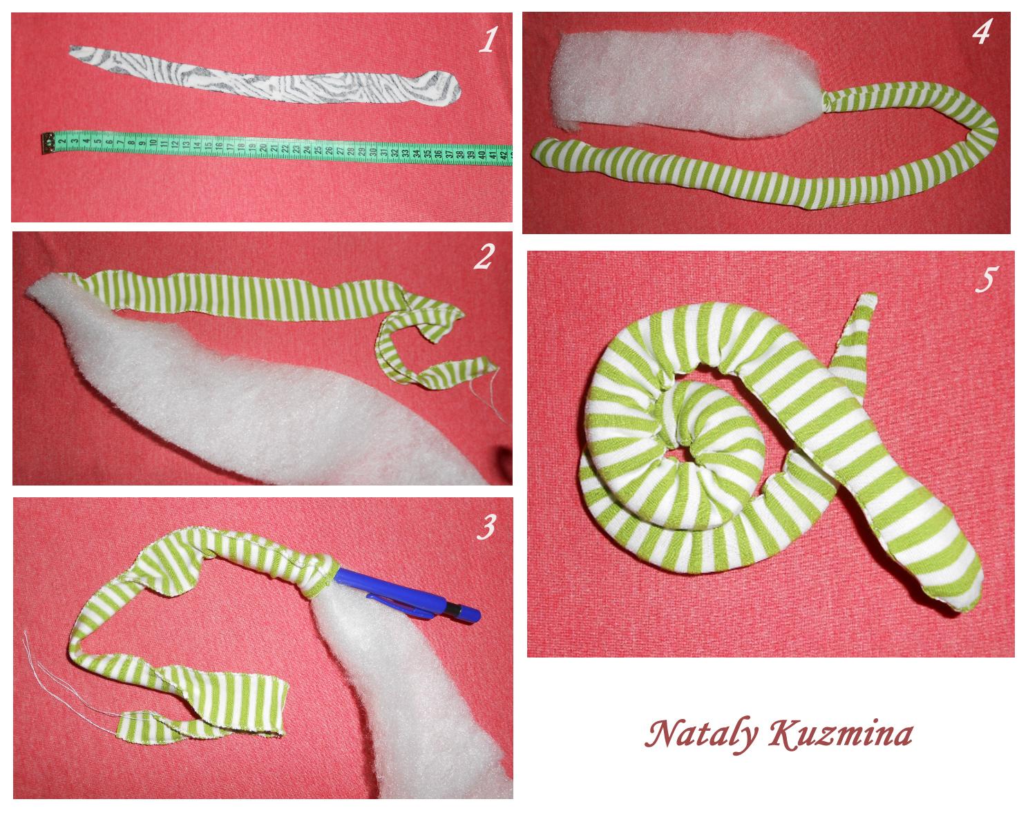 Как шить змея своими руками
