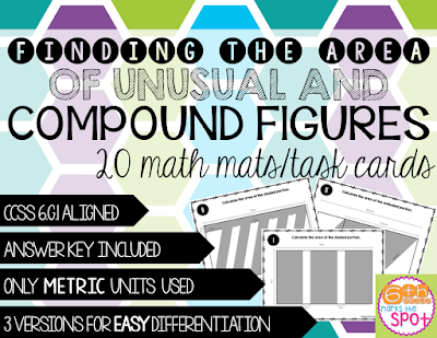 https://www.teacherspayteachers.com/Product/Area-of-Unusual-and-Compound-Shapes-CCSS-6G1-Aligned-2189829