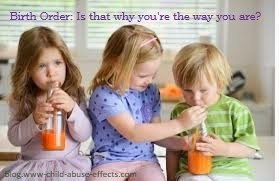 Birth Order: Is That Why You're The Way You Are?
