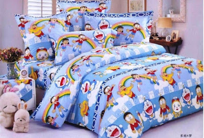 Ide Desain Kamar Tidur Anak Minimalis Doraemon