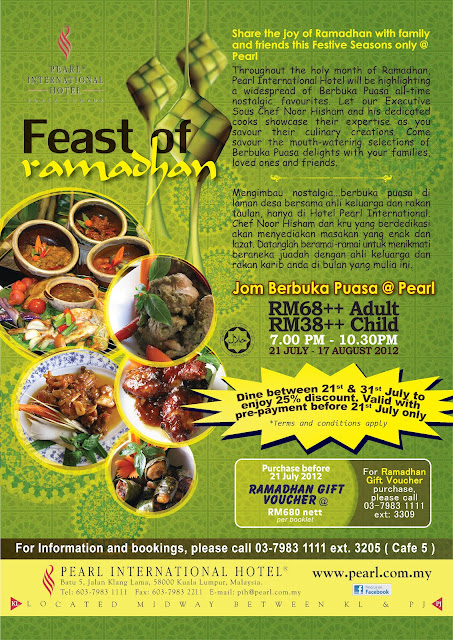 Ramadhan2012%2BA4 Feast of Ramadhan at Pearl Hotel