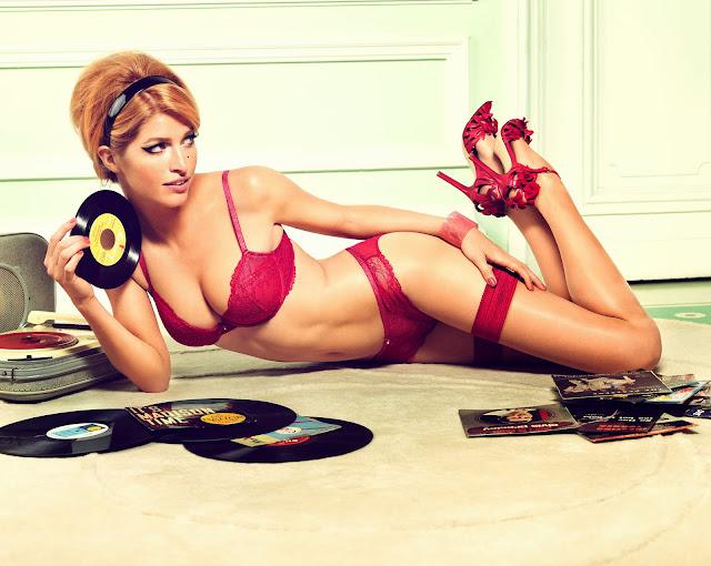 Heide Lindgren – Palmers Lingerie & Swimwear Spring-Summer 2013