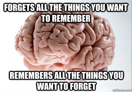 Scumbag brain !