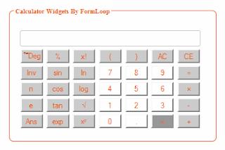 Compact Scientific Calculator