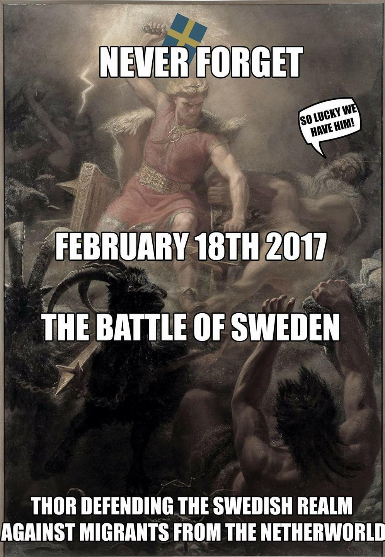 Je suis Sweden