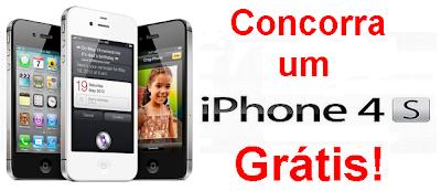 Promoção quero um Iphone 4 Grátis!