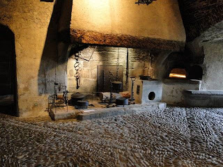 Castello di Gruyères,cucina