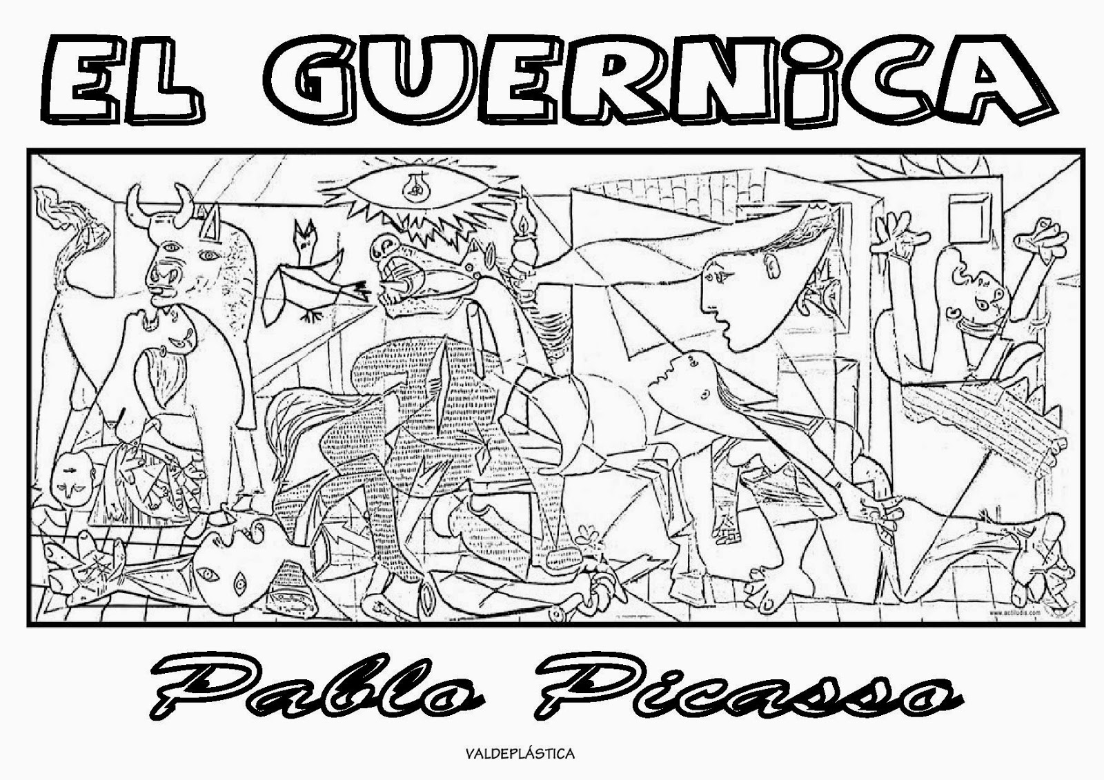 free coloring pages of pablo picasso. Black Bedroom Furniture Sets. Home Design Ideas