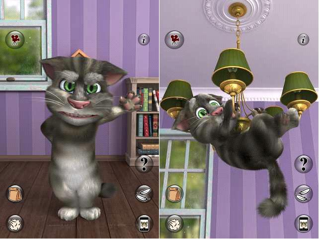 jeux talking tom cat 2 gratuit pour android jeux android apk smart android solution. Black Bedroom Furniture Sets. Home Design Ideas