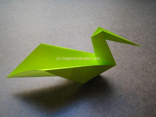 Origami Instruction Origami Pelican