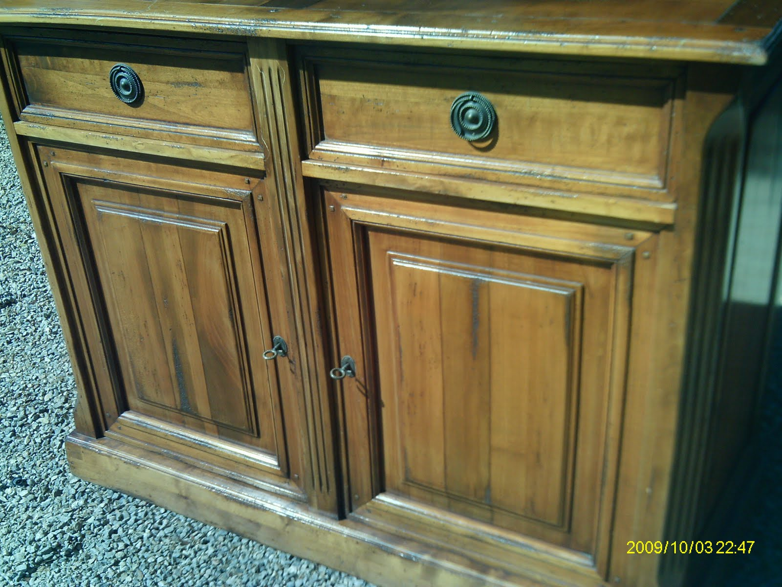 ancien buffet bahut rustique d but xxeme i. Black Bedroom Furniture Sets. Home Design Ideas