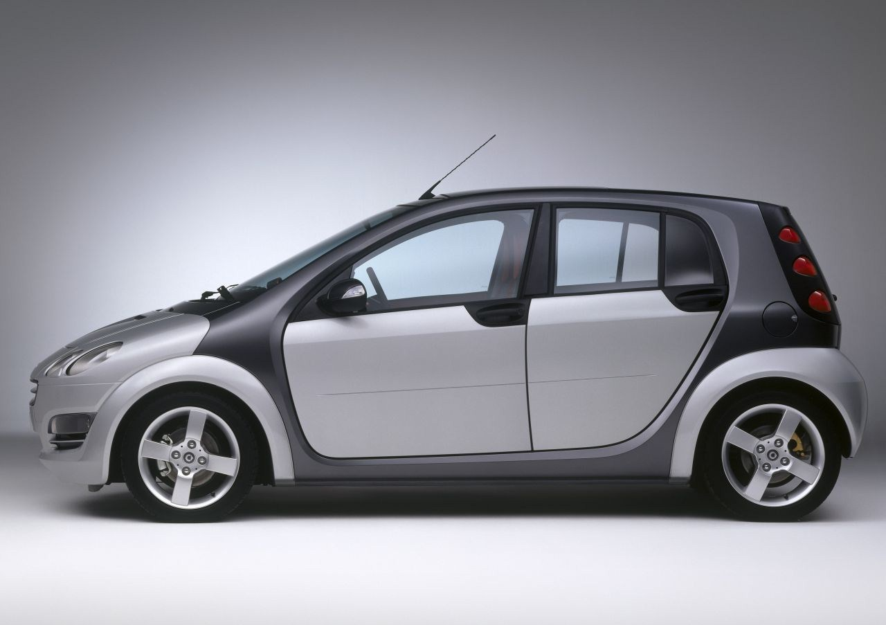 smart forfour    cars news
