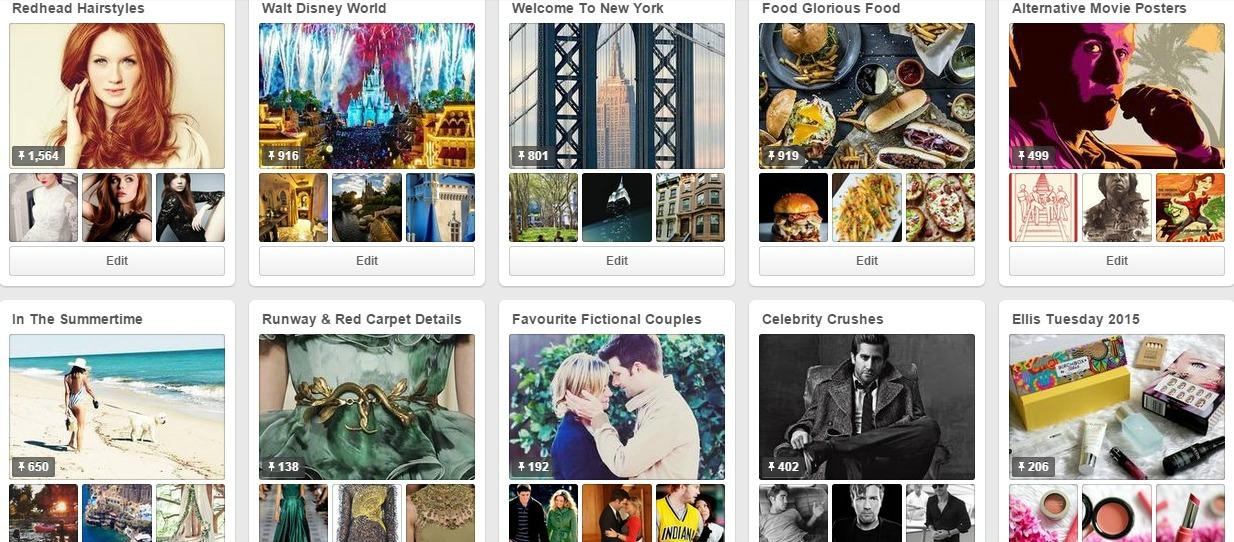Best Pinterest Boards 2015