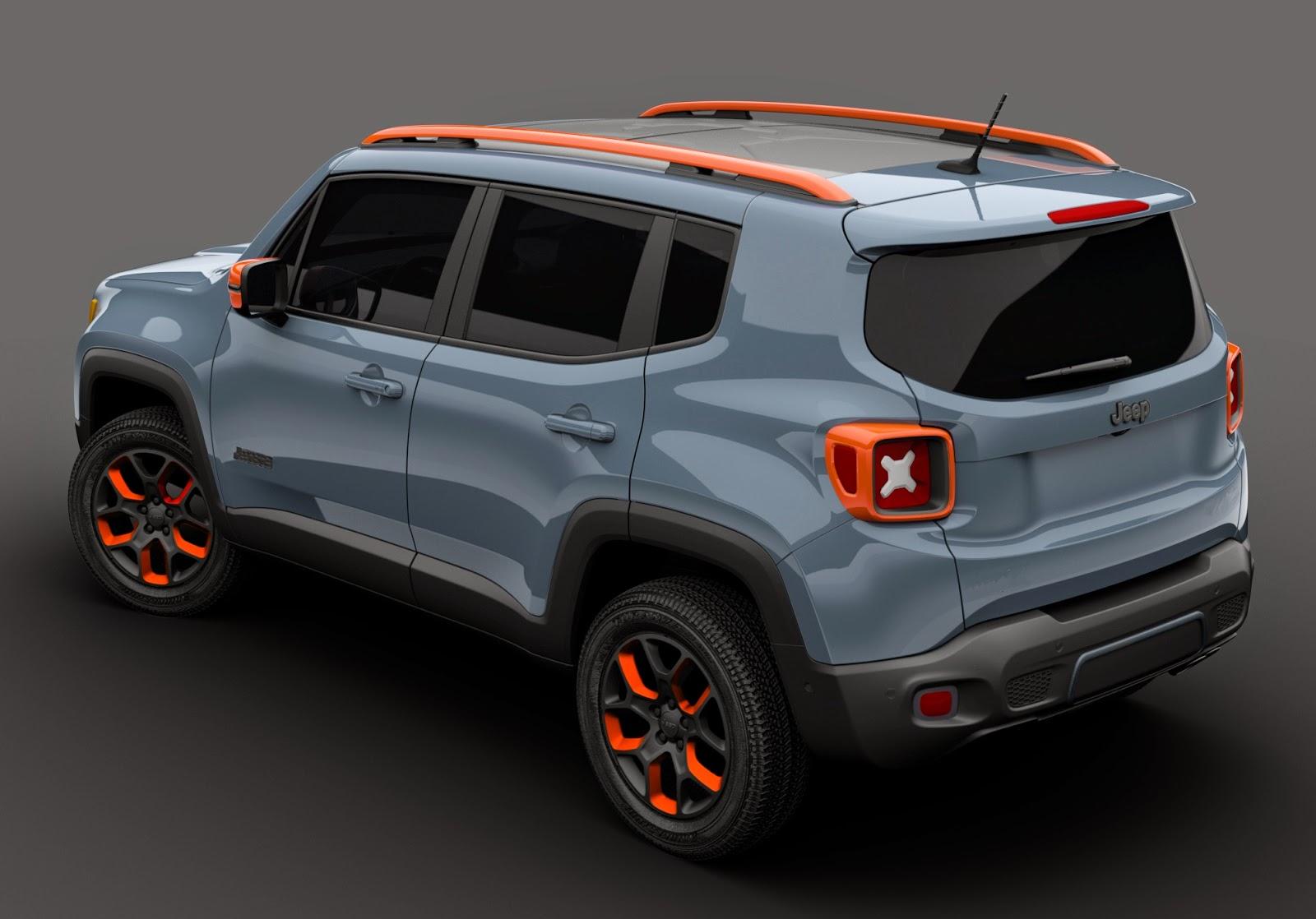 2015 Willys Jeep >> Mopar apresenta customizações do Jeep Renegade
