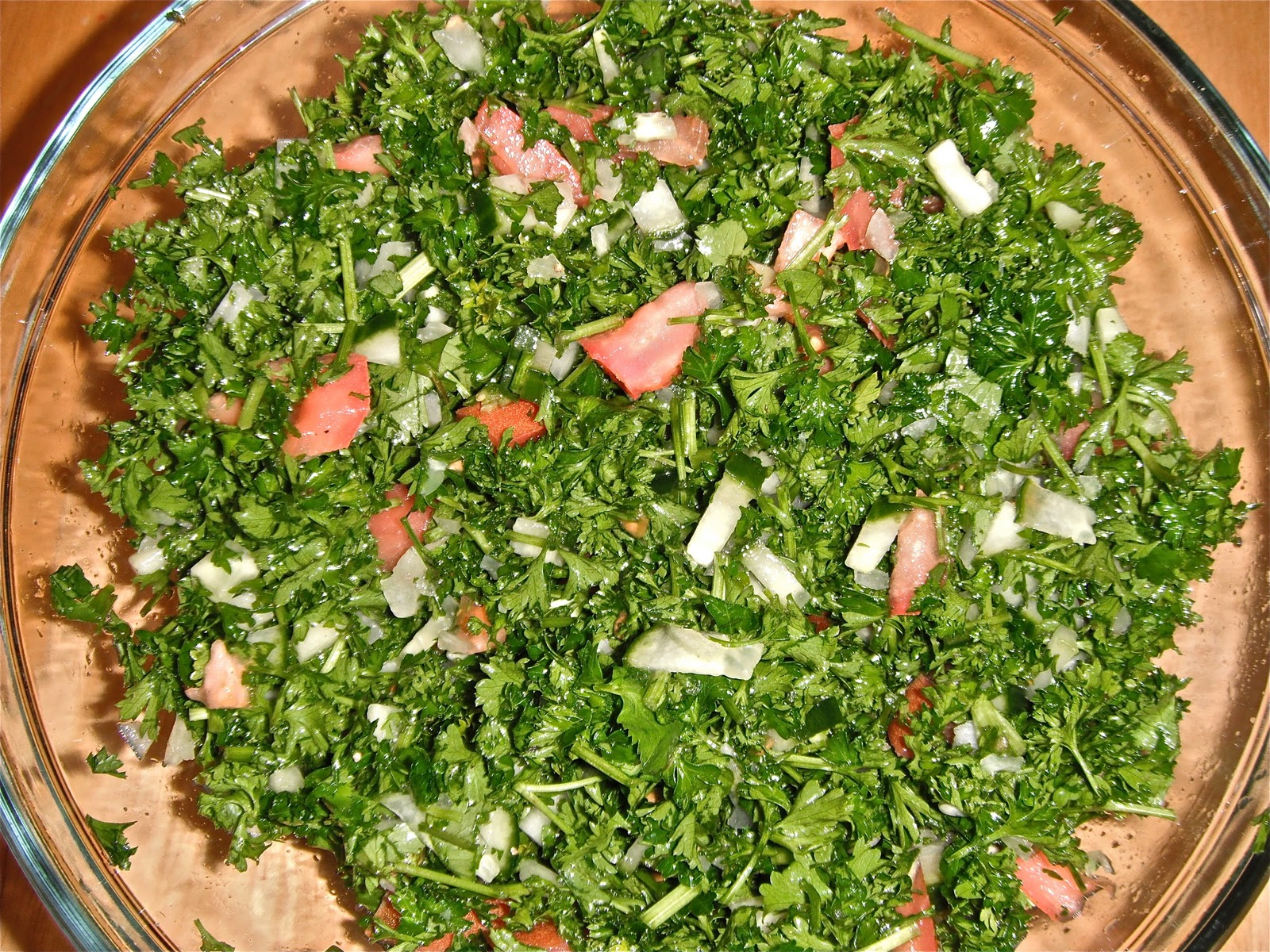 ... middle eastern salad called tabouleh i have always liked tabouleh and