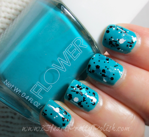 Flower Good Bud-dy I Love Nail Polish Fully Turqued