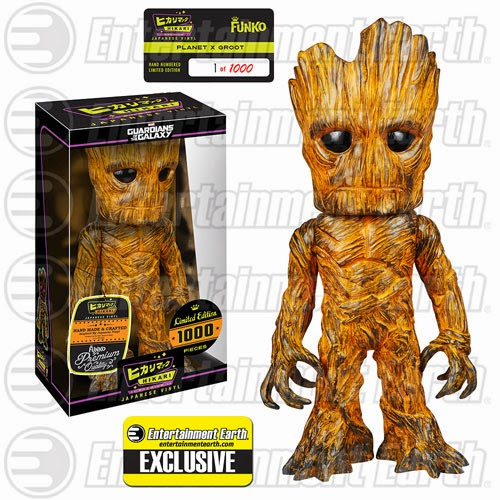 "Entertainment Earth Exclusive ""Planet X"" Groot Guardians of the Galaxy Hikari Vinyl Figure by Funko"