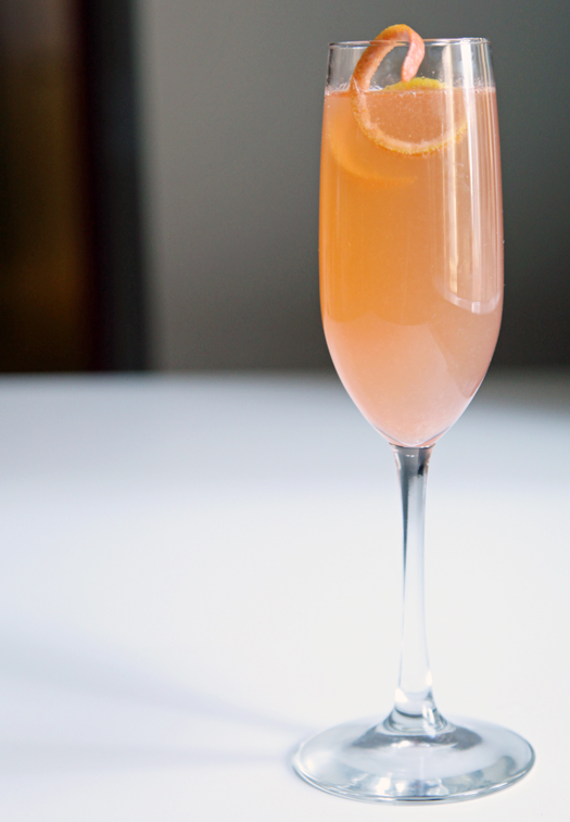 Let's Refresh With Bon Affair's Grapefruit-Mango Mimosa
