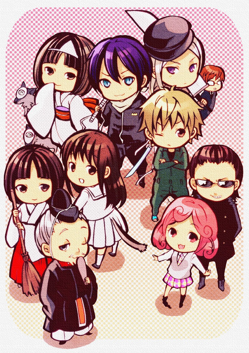 Anime Characters Chibi : Chibi noragami