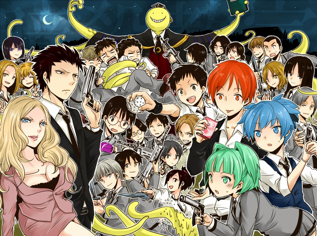 Daftar anime yang akan rilis di musim winter 2015