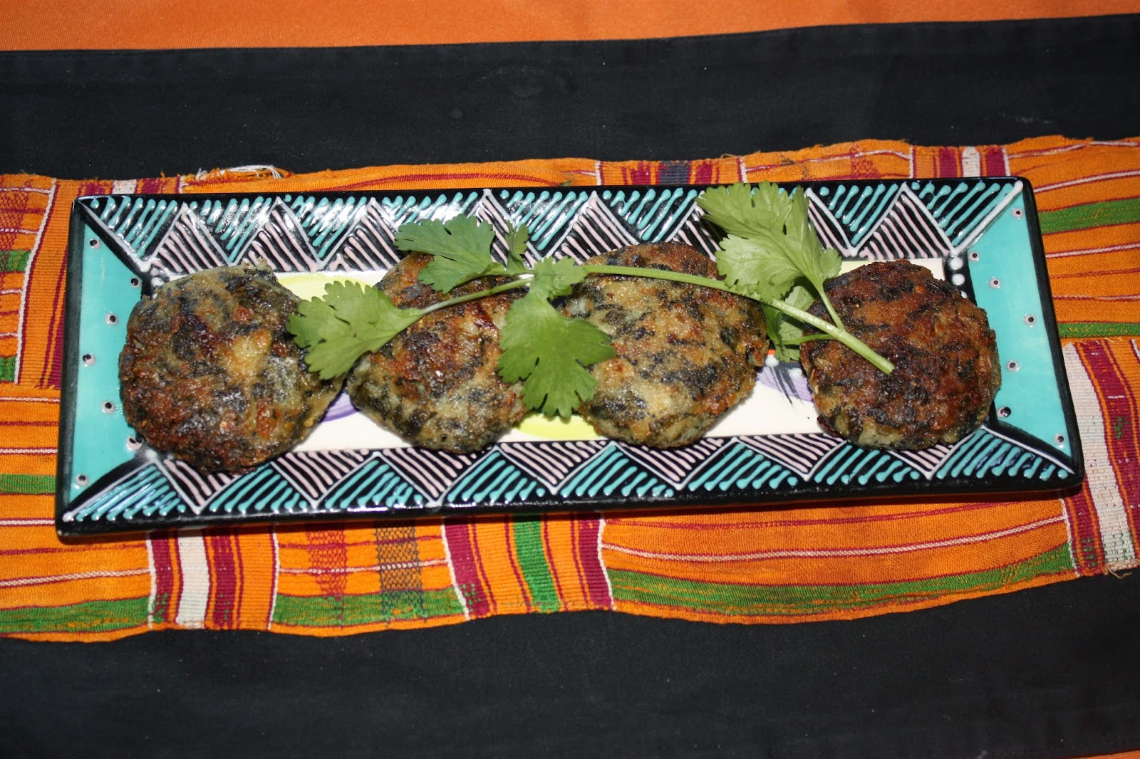 Xhosa imfino wild spinach patty recipe edible gold gold our recipe is quick and inexpensive and can be served as a snack starter or as an accompaniment to a main dish forumfinder Images