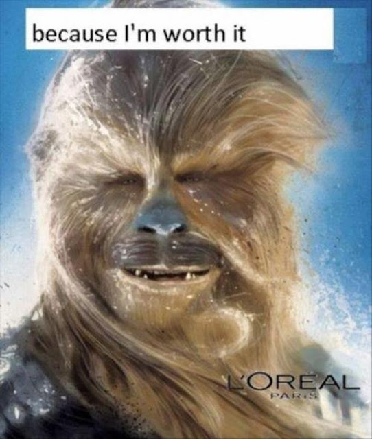 chewbacca loreal