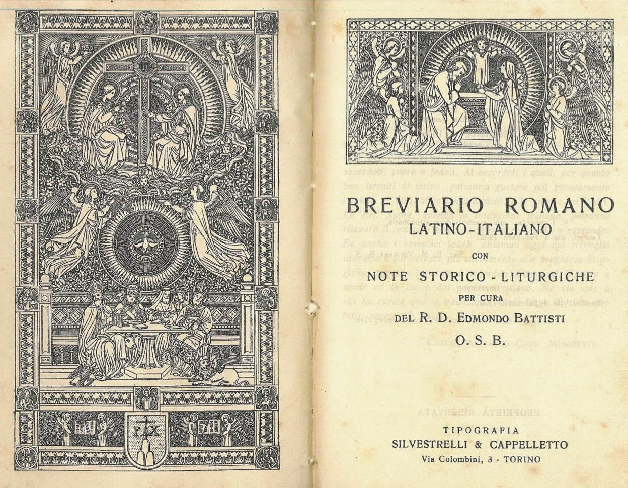 PRIMO BREVIARIO ITALIANO BILINGUE