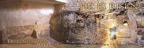HE IS NOT HERE : HE IS RISEN PANORAMIC