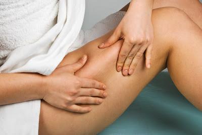 Relaxing self-massage against insomnia Head shoulders leg Combat stress