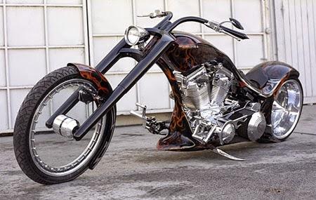 Chooper Motorcycle - Moto Chooper Modificada