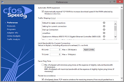 Download cFosSpeed 9.05 Build 2087 + Trial Reset Terbaru 2014