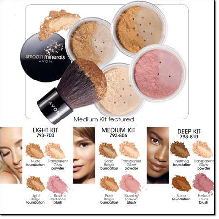 Mineral Makeup Brands on Avon   Mark Products  Gifts  Items   Baby