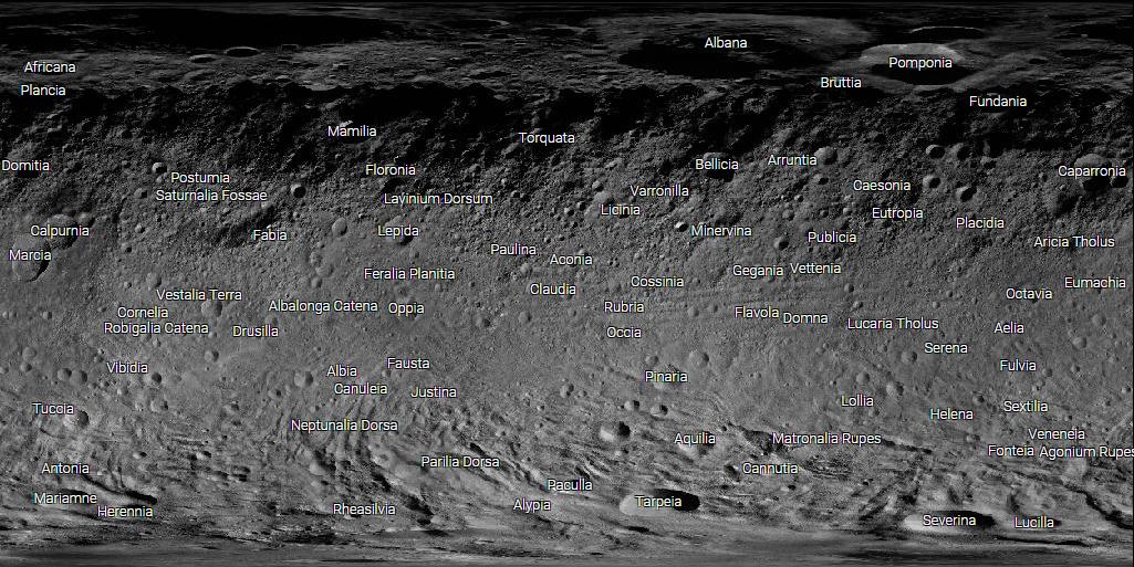 Explore virtualmente o asteroide Vesta