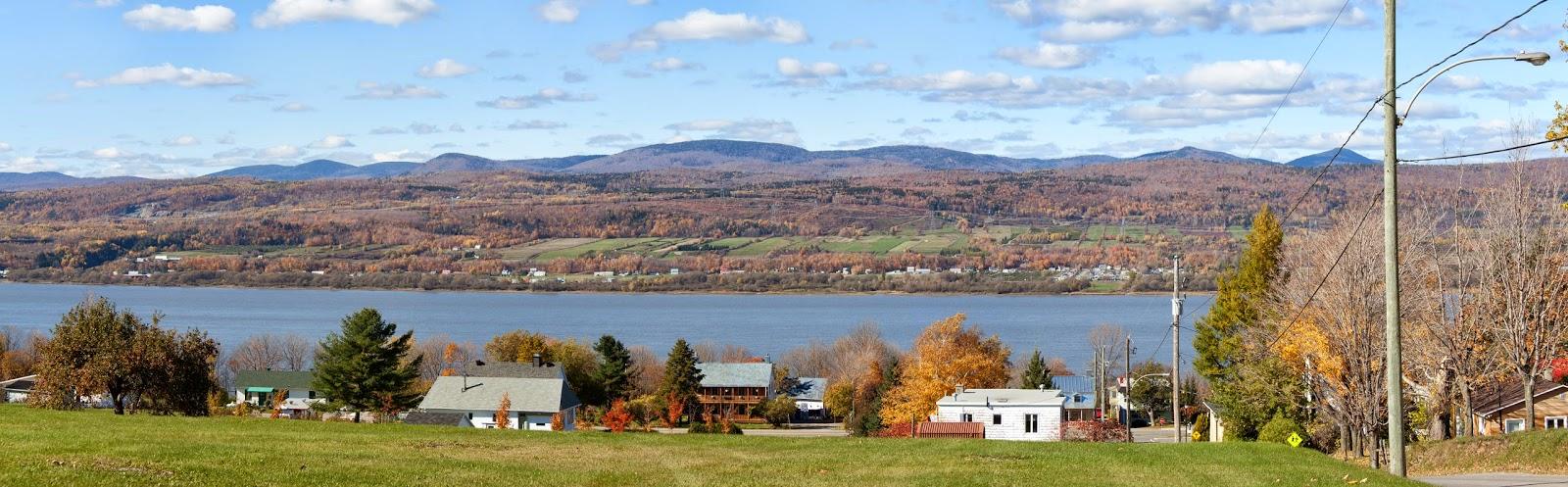 Ste-Famille on Ile d'Orléans in Quebec