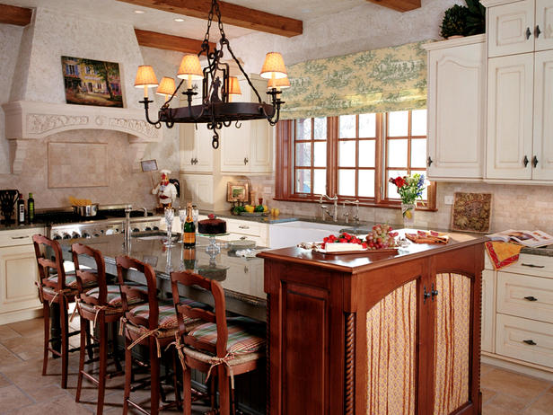 Creating an old world kitchen home interiors for Old world style kitchen