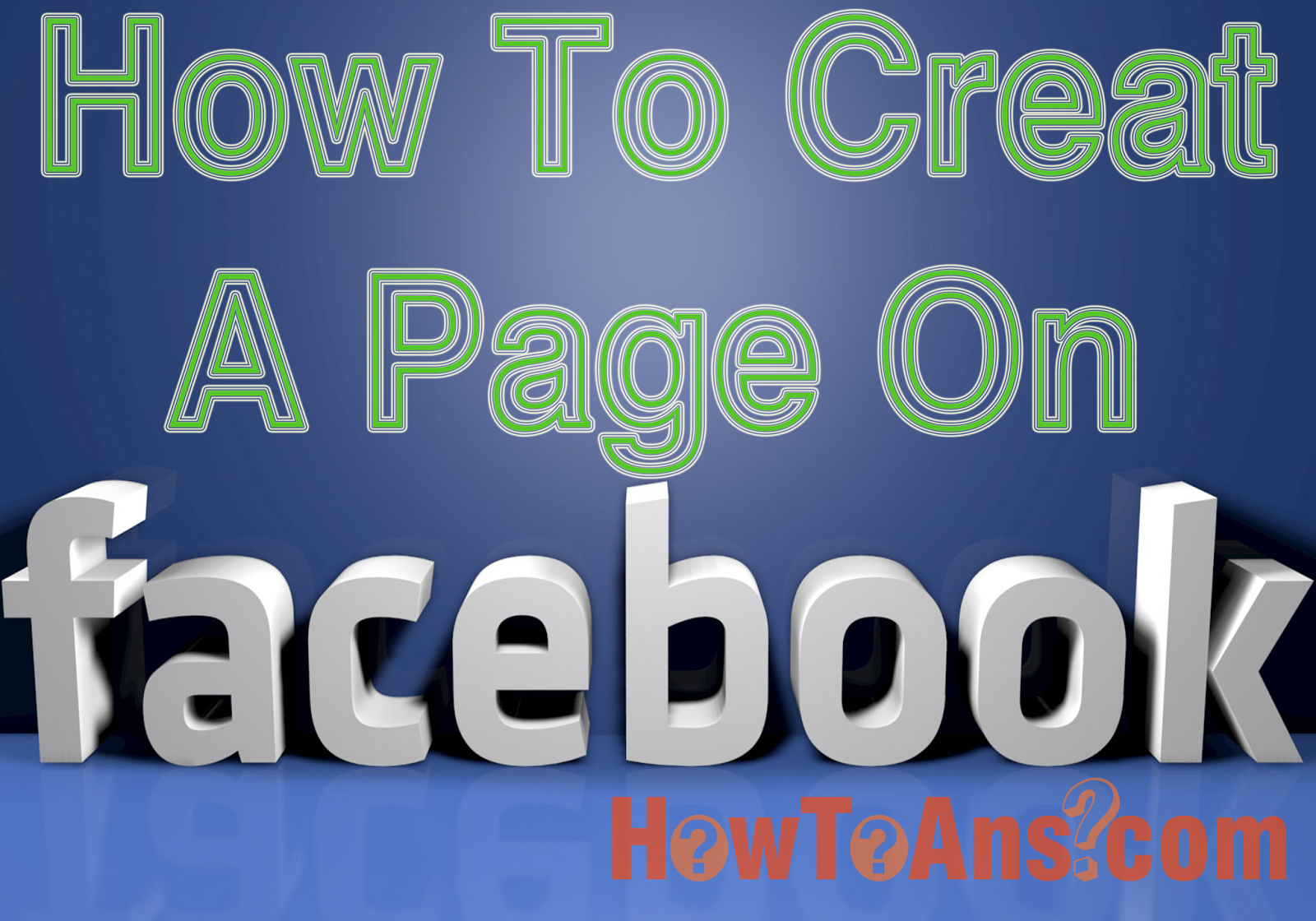 how to create verified facebook page