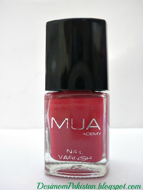 Make Up Acedmy Nail Varnish in Shade 6