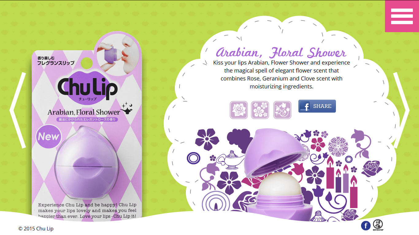 chulip arabian floral shower review