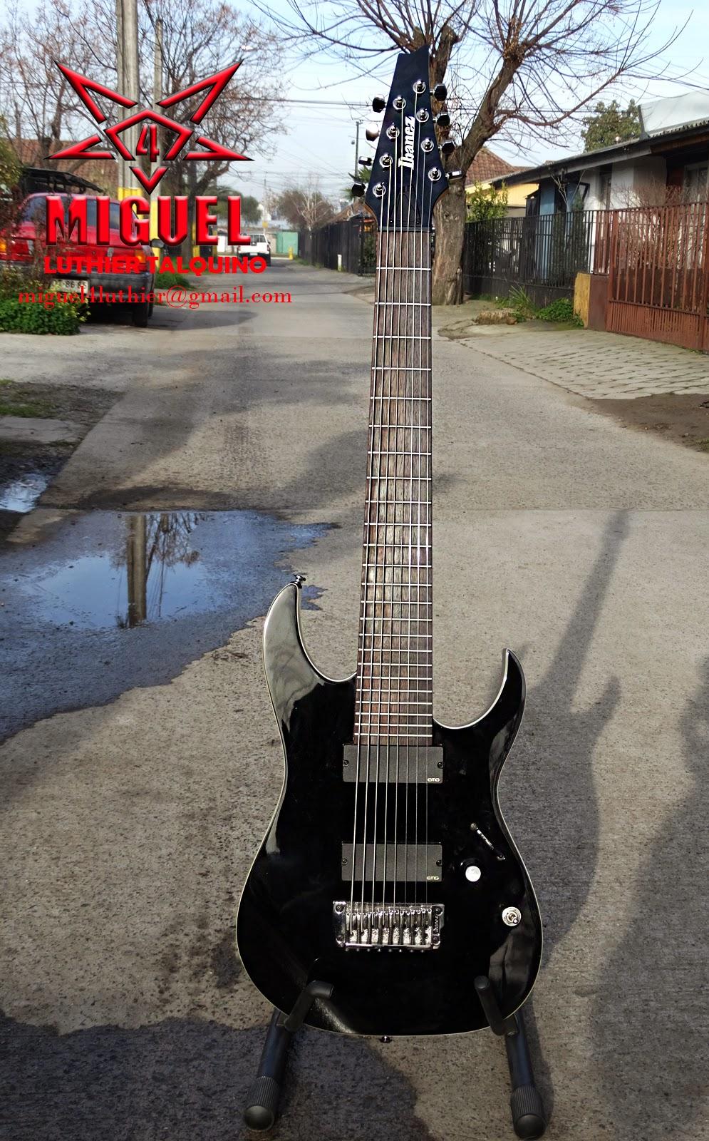 Luthier miguel4 talca guitarra el ctrica ibanez for Luthier guitarra electrica