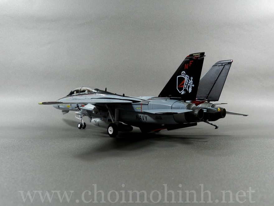 F-14A Tomcat US Navy Black Knights 1:72 Witty Wings back