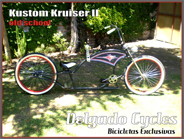 Kustom Kruiser II Old School - Delgado Cycles.