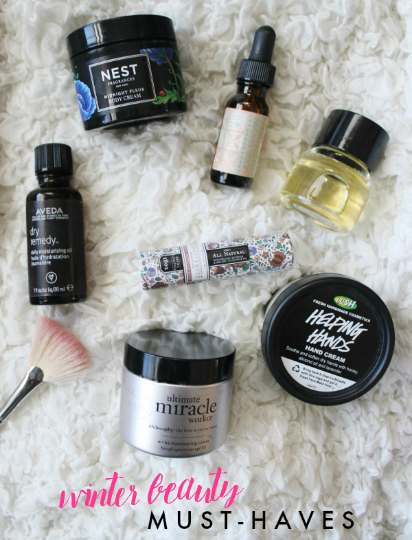 These beauty & body products are lifesavers during the cold & dry winter months!