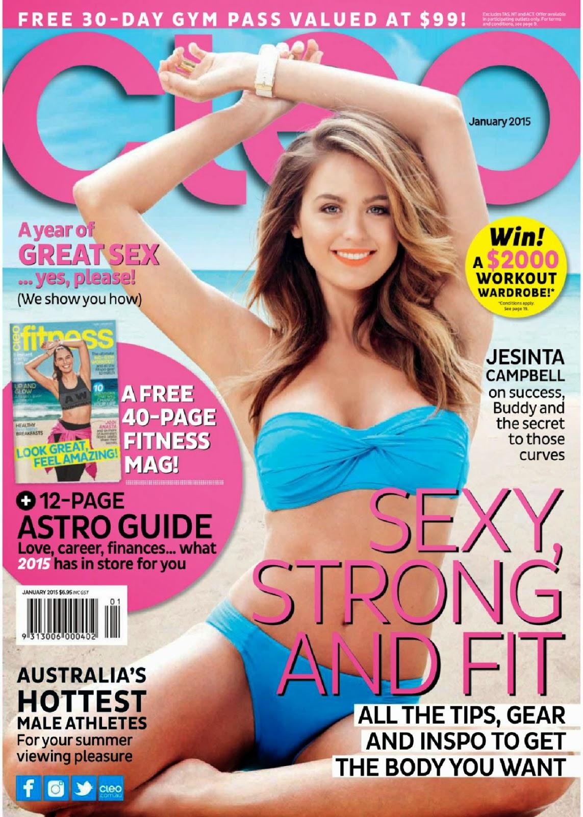 Jesinta Campbell – Cleo Magazine (Australia)