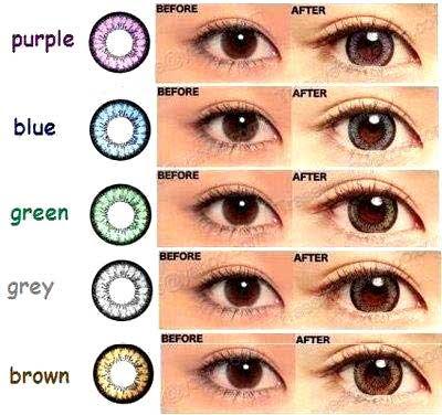 Warna Softlens yang Cocok Untuk Mata Sipit