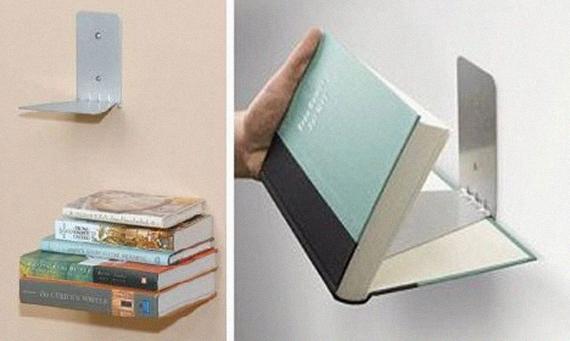 """Conceal"""" é uma Prateleira na qual o primeiro livro passa a fazer"""